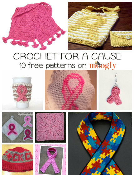 Stitching With Love 10 Free Crochet For A Cause Patterns Moogly