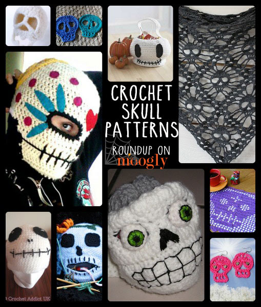 Make No Bones About It Its Free Crochet Skull Patterns Moogly