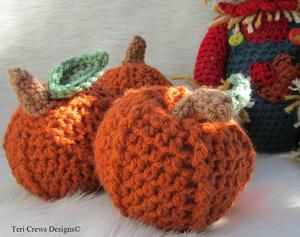 Crochet Pumpkin Pattern: Cute Pumpkin!