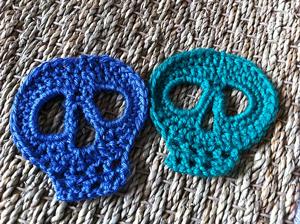 Crochet Skull Pattern: Simple Skull - Sugar Skull Reversible ... | 224x300