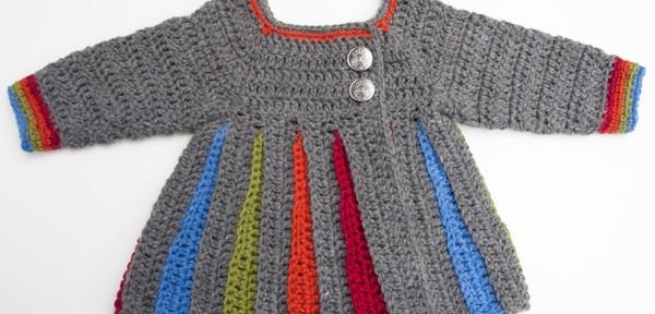 706460a94 Free Pattern  Eloise Baby Sweater - moogly
