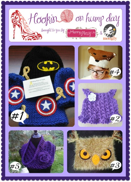 Hookin On Hump Day - Best link party for the fiber arts on the net! Fantastic links, great patterns, and more! Link up today!