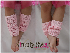 Legwarmers by Simply Sweet:: Free #crochet leg warmers patterns for kids!