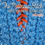 Mattress Stitch Seaming