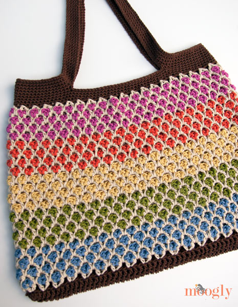 Crochet Tote Pattern : ... Crochet Patterns: Free Crochet Bags, Purses & Coin Purses Patterns