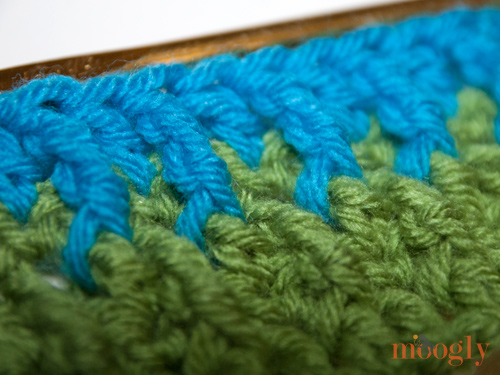 Overlapping Post Stitch Pattern Tutorial