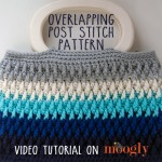 Overlapping Post Stitch Pattern