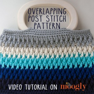 a22b32d1e733bc Video Tutorial  Overlapping Post Stitch Pattern - moogly
