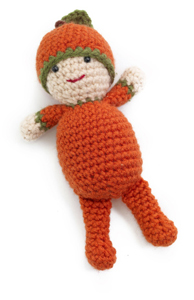 Crochet Pumpkin Pattern: Patrick the Pumpkin Boy