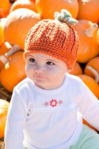 Crochet Pumpkin Pattern: Pumpkin Harvest Hat