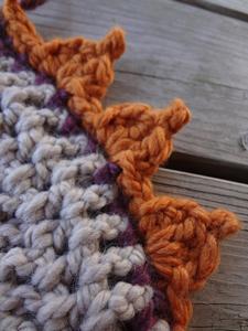 Crochet Pumpkin Pattern: Pumpkin Patch Crochet Edging