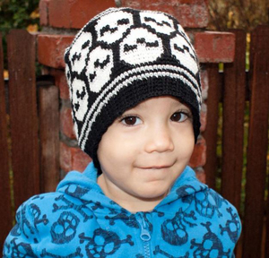 Skull Beanie on Craftsy!