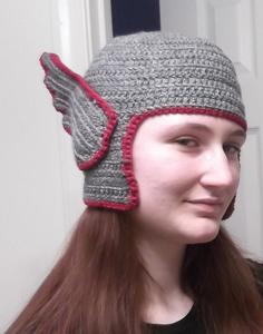 Free #Crochet Avengers Patterns :: Thor Hat