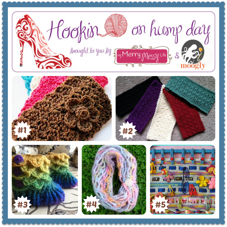 Hookin On Hump Day! Get great patterns, inspiration, and add your own blog links to the party!