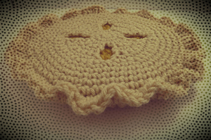 Apple Pie Potholder :: Free Crochet Apple Patterns Roundup on Moogly!