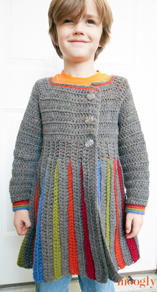 Eloise Girls Sweater :: modeled by a very sweet 6 year old!