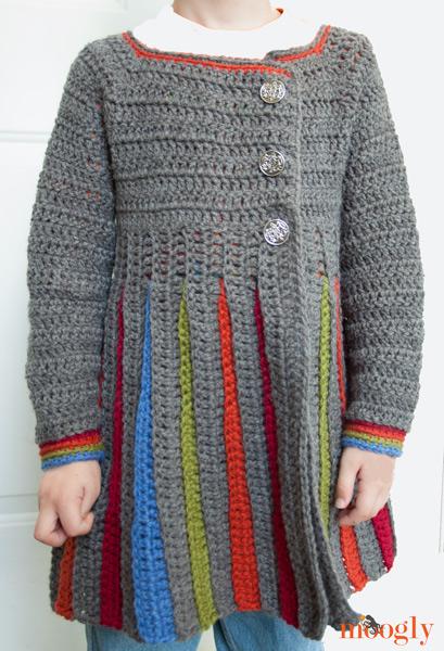 200bafed60e1da Eloise Girls Sweater    Free  crochet pattern for girls sizes S M