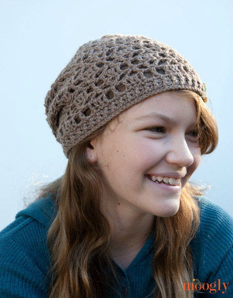 Free Pattern Fallen Leaves Slouch Hat Moogly