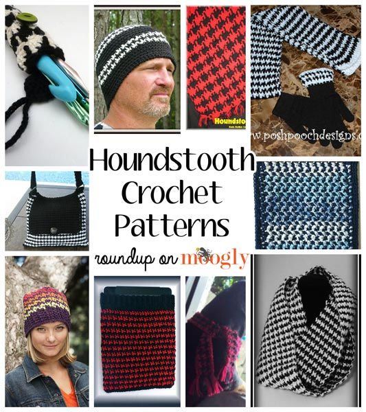 A Trendy Classic Houndstooth 10 Free Houndstooth Crochet Patterns