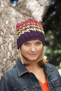 Houndstooth Hat :: Free Houndstooth Crochet Patterns!