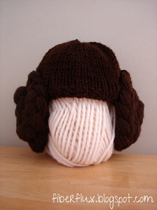 Knitted Leia :: Free Wig Pattern by Fiber Flux