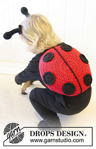 Lady Bug :: Free #Crochet Halloween Costumes for Babies!