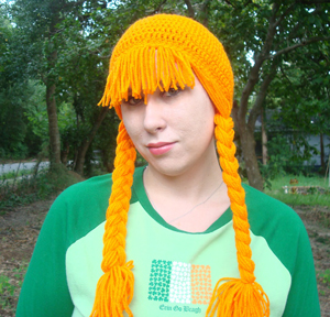 Lassie Wig :: Free Crochet Wig Patterns