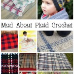 Mad About Plaid! 10 Free Plaid Crochet Patterns