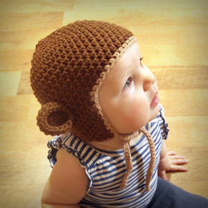 Monkey Hat :: Free #Crochet Halloween Costumes for Babies!