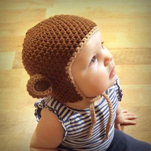 Monkey Hat :: Free #Crochet Halloween Costumes for Babies!