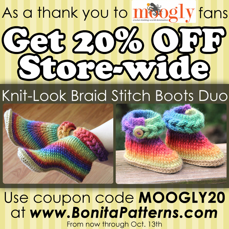 Giveaways reviews archives page 22 of 23 moogly get a great bonita patterns discount code for all moogly fans fandeluxe Choice Image