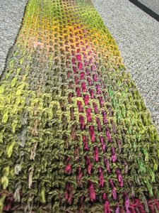 Noro Plaid :: free plaid crochet pattern!