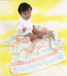 Plaid Baby Blanket :: free plaid crochet pattern!
