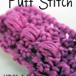 Learn the Puff Stitch! #Crochet video and photo tutorial on moogly!
