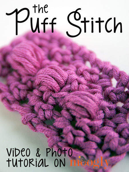 Video Tutorial The Puff Stitch Moogly