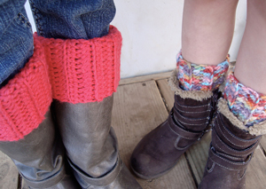 10 Hot And Free Boot Cuff Patterns To Make Today
