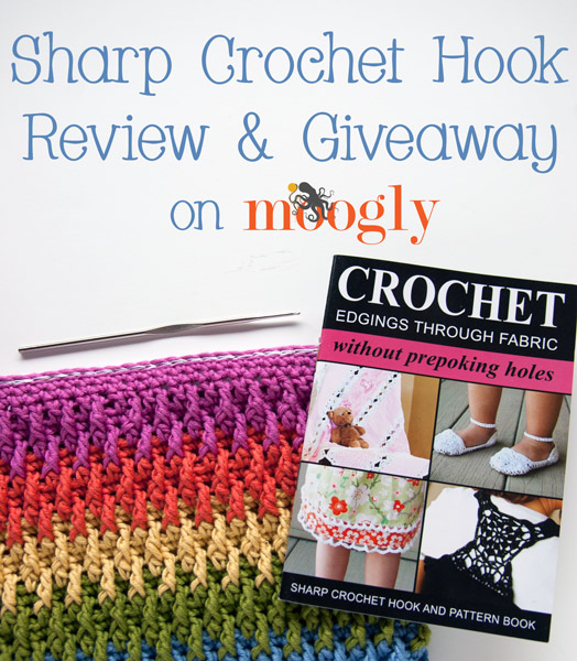 Sharp Crochet Hook Giveaway! Win your very own Sharp #Crochet Hook and pattern book! Giveaway ends 11/05/13 at 12am Eastern.