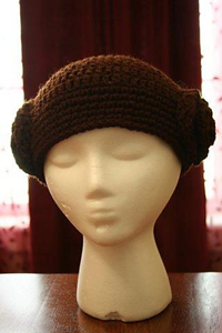 Star Wars Princess Leia Wig :: Free Crochet Wig Patterns