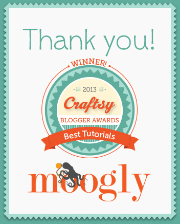 Craftsy Blogger Awards 2013: Best Tutorials for Knitting & Crochet! Thank you to all who voted!