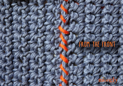 Whip Stitch Seaming for #Crochet and #Knitting :: a video and photo tutorial!