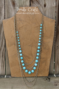 Necklace Display Form - lightweight and strong!