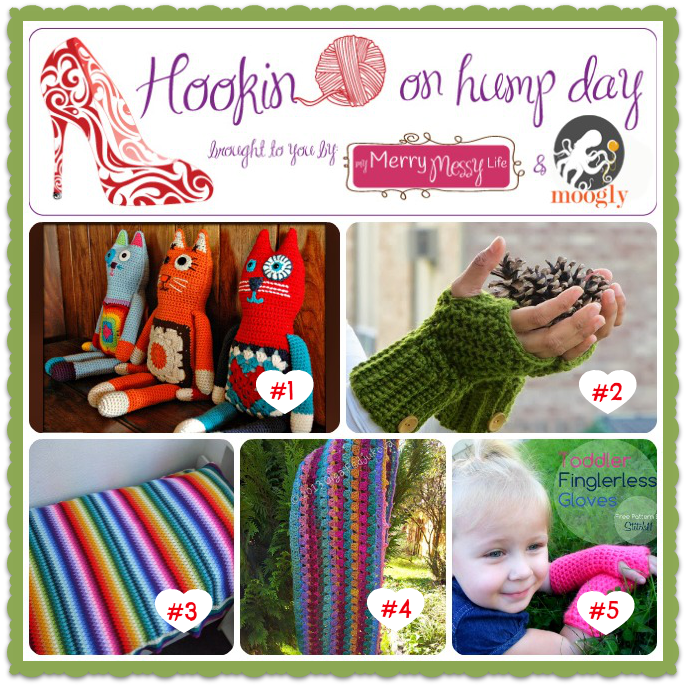 Hookin On Hump Day #58 - Holiday patterns and Inspiration from the best fiber arts bloggers!