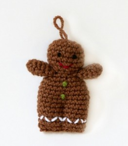 :: Bake (or Make!) A Dozen Free #Crochet Gingerbread Patterns