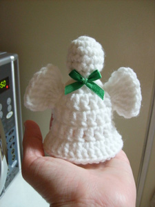 Angel Bell :: Free #Crochet Angel Patterns