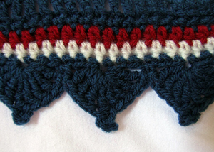 Cathedral Edging :: Free #Crochet Edging Patterns!