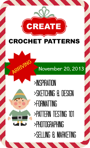 Create Crochet Patterns - win a copy of this great new ebook!