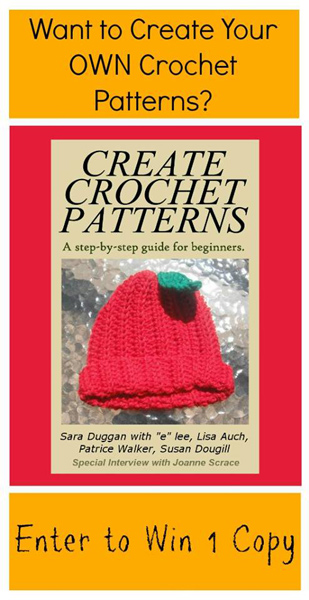 Create Crochet Patterns - win a copy of this great new ebook! Giveaway ends 11/22/13