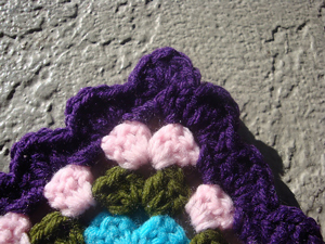 Edging for a Giant Granny Square :: Free #Crochet Edging Patterns!