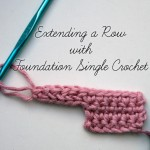 Extending a Row with Foundation Single Crochet