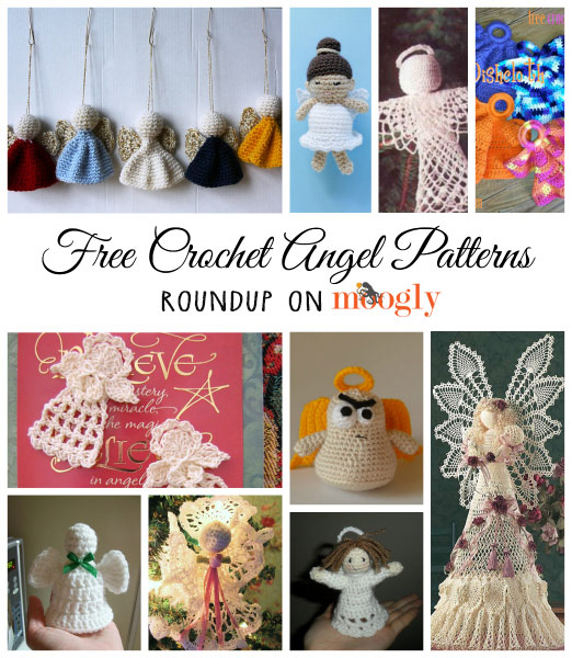 10 Free #Crochet Angel Patterns